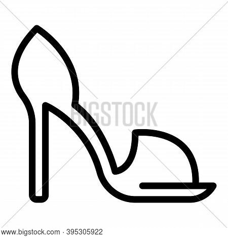 Buy Sandals Icon. Outline Buy Sandals Vector Icon For Web Design Isolated On White Background