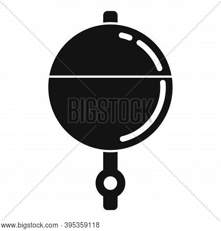 Bobber Jig Icon. Simple Illustration Of Bobber Jig Vector Icon For Web Design Isolated On White Back