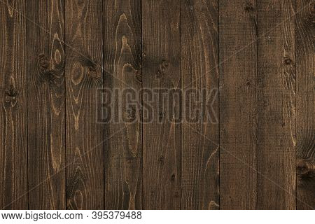 natural dark wood plank backdrop, boards as an abstract background with empty space as a template, wood structure