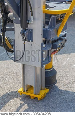 Blast Hole Drilling Machine Mininig Equipment Close Up