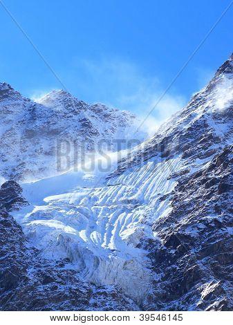 Glacier And Wind