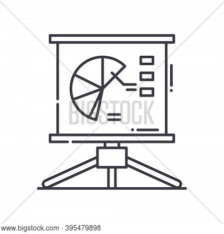 Representation Icon, Linear Isolated Illustration, Thin Line Vector, Web Design Sign, Outline Concep