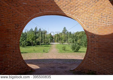 Russia. Khabarovsk-september 2020: Peace Memorial Park. Monument To The Dead Japanese Prisoners Of W