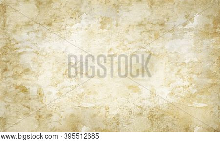 Old Paper Texture Background.aged Worn Out Light Brown Beige White Blank Parchment. Ancient Antique