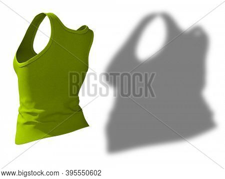 Conceptual fat overweight obese shadow female undershirt vs slim fit healthy body after weight loss or diet thin young woman isolated. A fitness, nutrition or obesity health shape 3D illustration