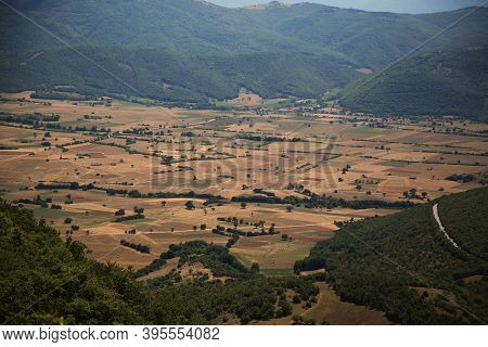 The Countryside Of Umbria, Italy. High Quality Photo