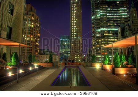 luxuriöse Terrasse