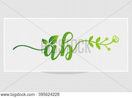 Elegant Ab Logo Design For Restaurant, Royalty, Boutique, Cafe, Hotel, Heraldic, Jewellery, Fashion,
