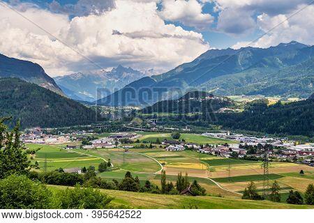 Town Of Imst In Tirol, Austria, Europe.