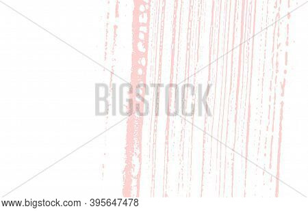 Grunge Texture. Distress Pink Rough Trace. Fancy Background. Noise Dirty Grunge Texture. Overwhelmin