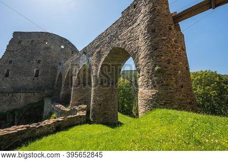 Velhartice Castle In The Klatovy District, Czech Republic