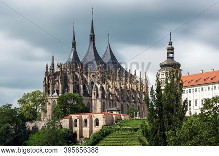 Cathedral Of The Saint Barbora In Kutna Hora
