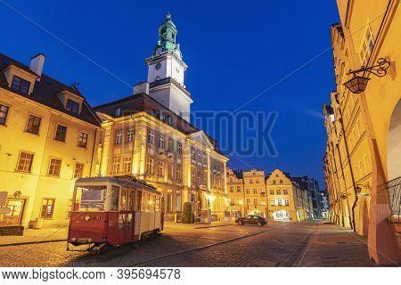 Old Town Of Jelenia Gora. Jelenia Gora, Lower Silesia, Poland.