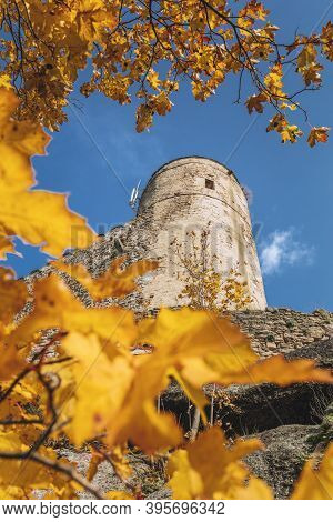 Chojnik Castle In Karkonosze National Park. Jelenia Gora, Lower Silesia, Poland.