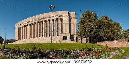 Parliament House in Helsinki