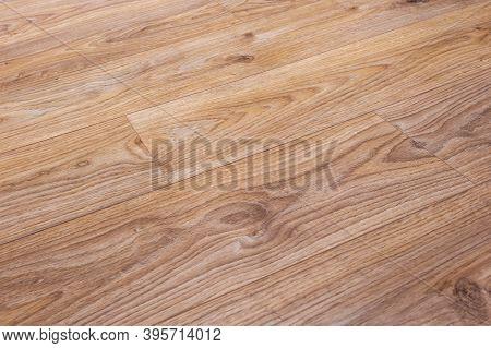 Vinyl Floor Detail, Oak Decor. Natural Background