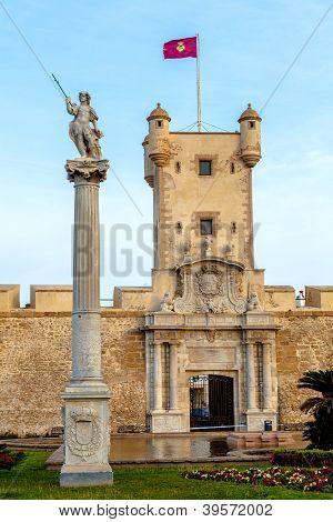 Doors Of Earth Of Cadiz, Spain