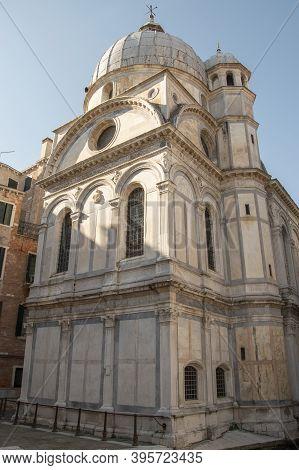 City Of Venice, Church Of Santa Maria Dei Miracoli, Italy