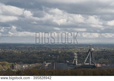 Panoramic View Of The City Of Ghent Belgium Europe  Coal Mines Of The Last Century 50 Th