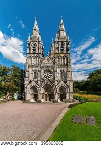 Saint Fin Barre's Cathedral. Cork, Ireland, Europe.