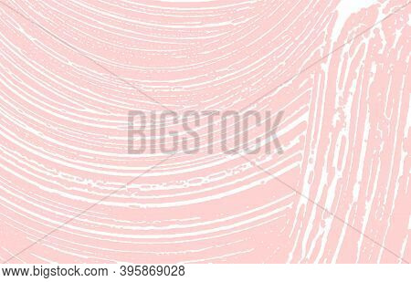 Grunge Texture. Distress Pink Rough Trace. Grand Background. Noise Dirty Grunge Texture. Valuable Ar