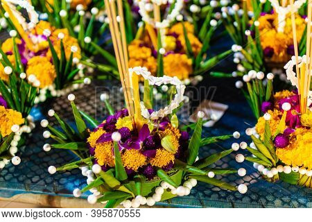 Loy Krathong Festival, A Traditional Siamese New Years Festival, Is Celebrated Annually Throughout T