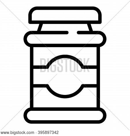 Chocolate Paste Breakfast Icon. Outline Chocolate Paste Breakfast Vector Icon For Web Design Isolate