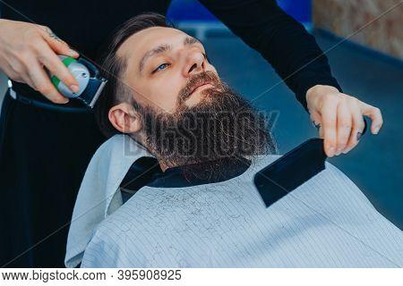 Barber For Bearded, Brutal And Stylish Men.