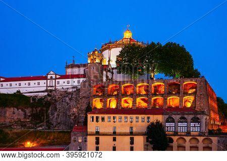 Monastery Of Serra Do Pilar Is A Former Monastery Located In Vila Nova De Gaia, Opposite Porto City