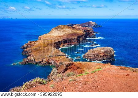 Ponta De Sao Lourenco Means Point Of Saint Lawrence Is The Easternmost Point Of The Madeira Island I