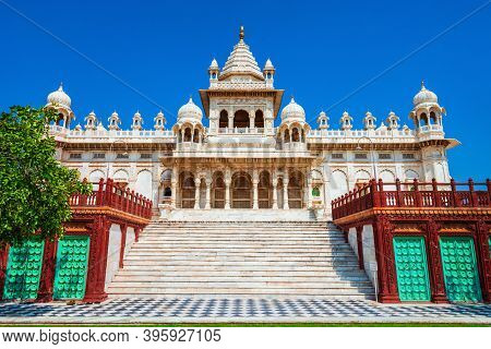 Jaswant Thada Mausoleum In Jodhpur City In Rajasthan State Of India