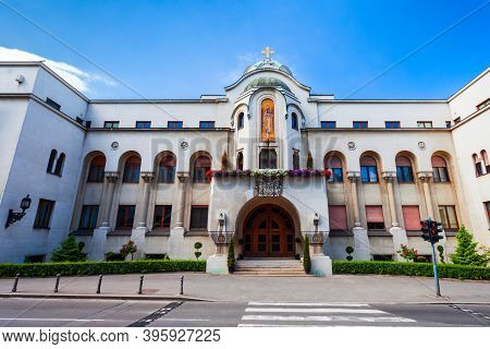 Patriarchate Building Is The Seat Of The Serbian Orthodox Church And The Patriarch In Belgrade, Serb
