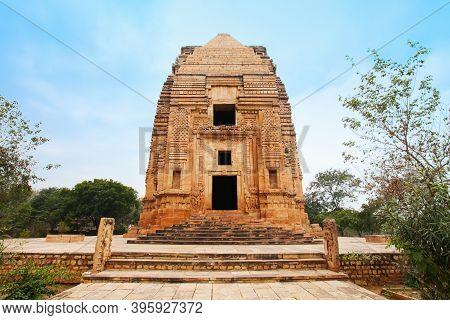 Telika Temple Or Teli Ka Mandir Is A Hindu Temple Located Within The Gwalior Fort In Madhya Pradesh