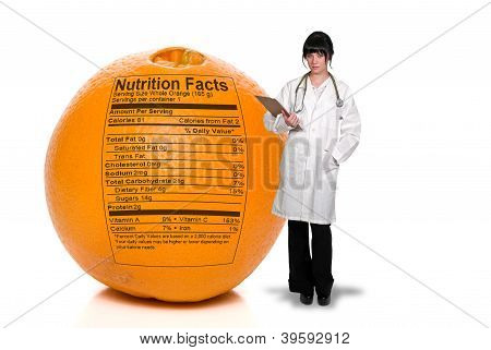 Doctor And Orange Nutrition Facts