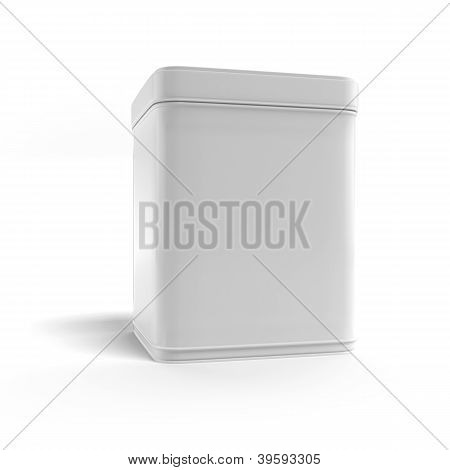 Box tea without label