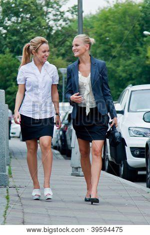 Two business women