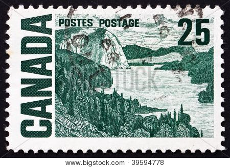 Postage stamp Canada 1967 The Solemn Land, by MacDonald
