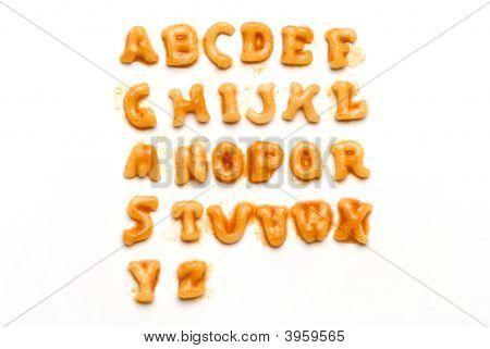 Pasta Alphabet