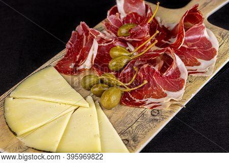 Food - Ham And Cheese Board - Iberian Deli - Spanish