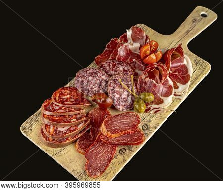 Food - Sausage Board - Iberian Deli