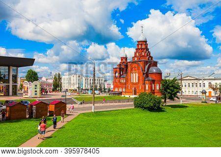 Vladimir, Russia - August 09, 2020: Holy Trinity Troitskaya Church In The Centre Of Vladimir City, G