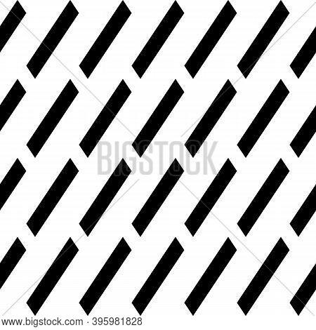 Seamless Vector. Diagonal Strokes Background. Parallelograms Backdrop. Slanted Geometrical Figures P