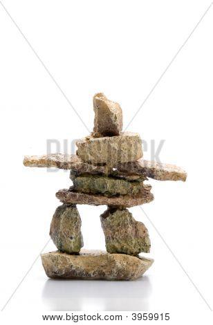 Inukshuk Statue