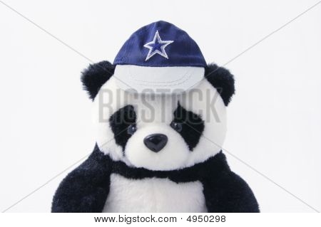 Soft Toy Panda With Cap