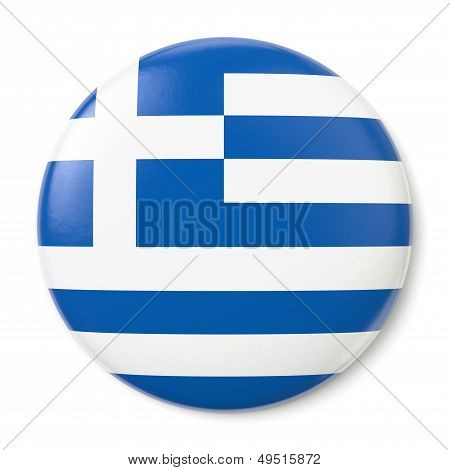 Greece States Pin-back