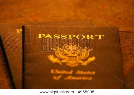 Passports In Low Light