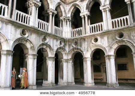 Doges Palace Inside, Venice