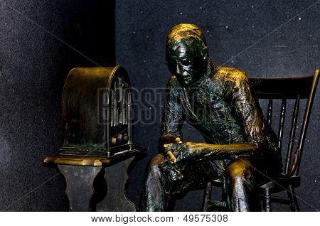 WASHINGTON, DC - AUGUST 10 2013 - Franklin Delano Roosevelt Memorial radio broadcast