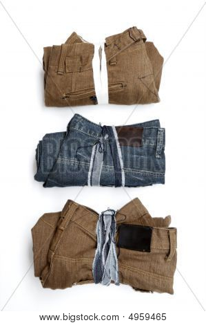 Folded Trousers
