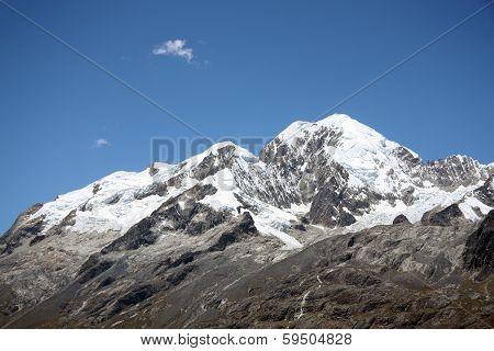 Illampu Mountain peak